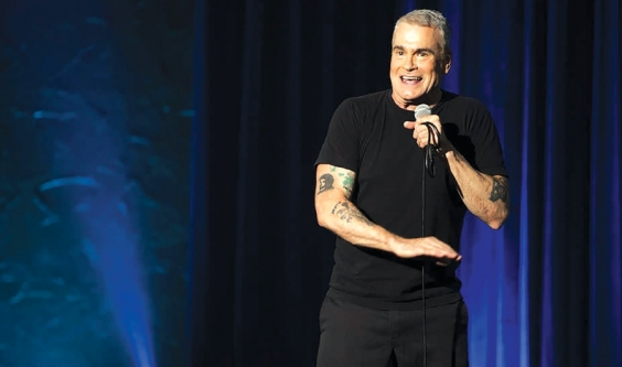 Henry Rollins is a fierce force of nature in 'Keep Talking, Pal'