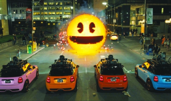Gaming nostalgia powers 'Pixels'