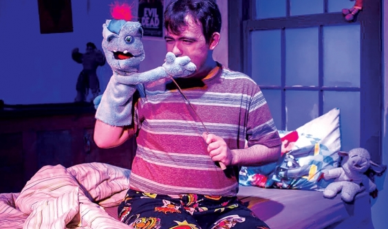 The profane puppetry of 'Hand to God'