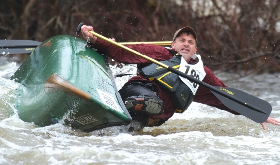 Scenes from the Kenduskeag Stream Canoe Race