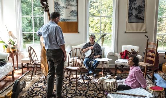 Genre jumpers Béla Fleck, Zakir Hussain and Edgar Meyer to hit CCA