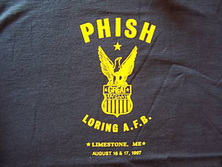 Phish-1997 Great Went T-shirt