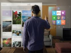 Hands-on with Microsoft's hologram device