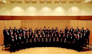 Group photo of University Singers