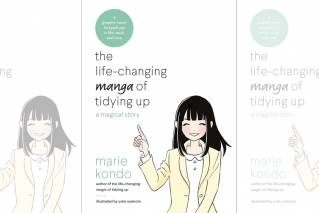 "This undated photo provided by Ten Speed Press shows the cover of the book ""the lifechanging manga of tidying up: a magical story,"" by Marie Kondo and illustrated by Yuko Uramoto."