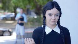 Time Waster - 'Adult Wednesday Adams'