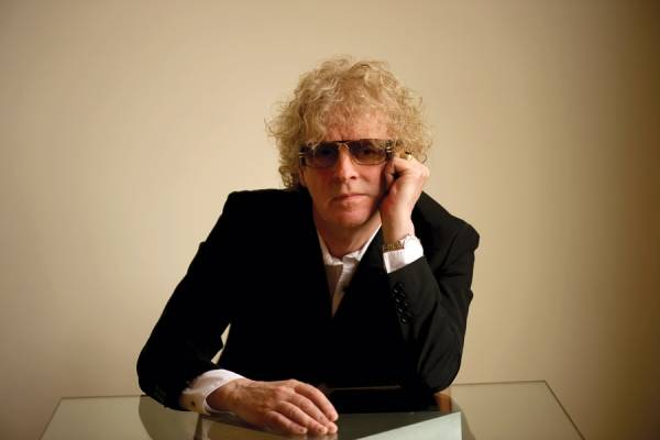Ian Hunter, former frontman for Mott the Hoople, has enjoyed a solo career since the band's breakup in 1974.