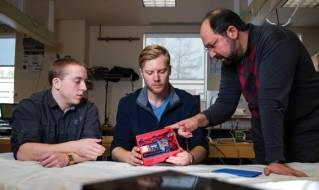 UMaine researchers' leak detection system bound for International Space Station