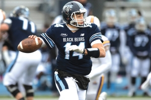 UMaine quarterback Chris Ferguson.