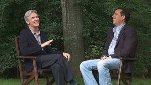 David Steinberg with Jerry Seinfeld.