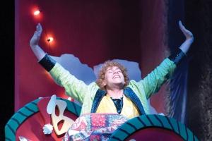 "Ira Kramer as Buddy the Elf in PTC's ""Elf: The Musical."""