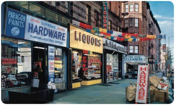 """Liquors"" by Richard Estes"