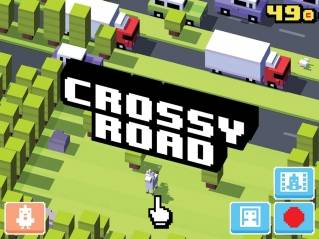 Weekly Time Waster - 'Crossy Road'