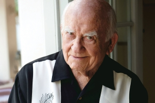 Ed Asner misses Maine (but not our weather)