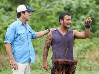 Hantz wreaks havoc before exiting the game of Survivor: Caramoan