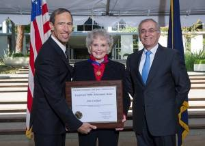 Beloved TV mom June Lockhart honored by NASA