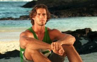 Male model has nothing to smile about after being voted off of 'Survivor'