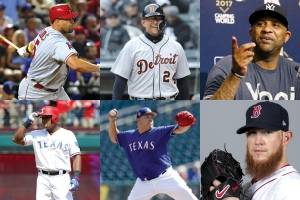 Possible MLB milestones for 2018