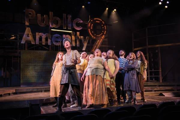 Don't stop relieving  Urinetown'