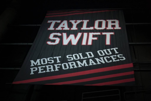 Celebrity Slam - T-Swift's banned banner