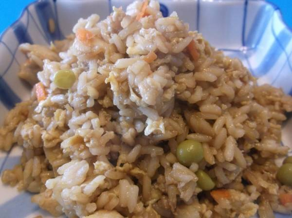 A midwestern fried rice