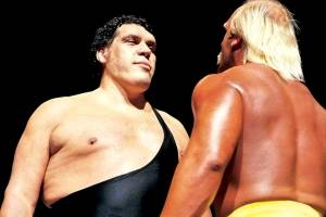 The man, the myth, the legend – 'Andre the Giant'