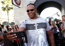 Ray Parker Jr. is seen at the Los Angeles Premiere of Columbia Pictures' 'Ghostbusters' at TCL Chinese Theatre on Saturday, July 9, 2016, in Los Angeles.