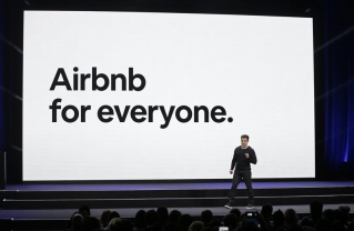 In this Feb. 22, 2018, file photo, Airbnb co-founder and CEO Brian Chesky speaks during an event in San Francisco. Airbnb says it will spend the next year verifying all 7 million of its listings as it works to improve user trust. Chesky said the company is also launching a 24-hour hotline for guests, neighbors and others to report problems.