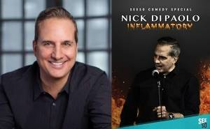 Nick Di Paolo talks comedy and his love of UMaine