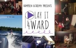Hampden Academy students 'Play It Forward' for one of their own
