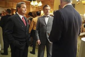 "Beau Bridges and Michael Sheen in Showtime's ""Masters of Sex."""