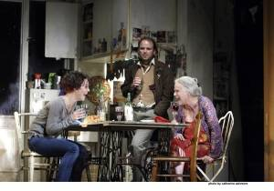 Julie Walters, Rory Kinnear and Helen McCrory in 'The Last of the Haussmans'