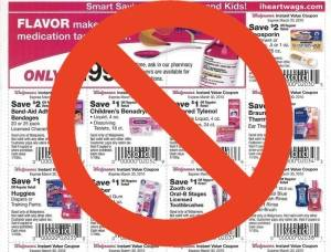 Companies ending distribution of coupons