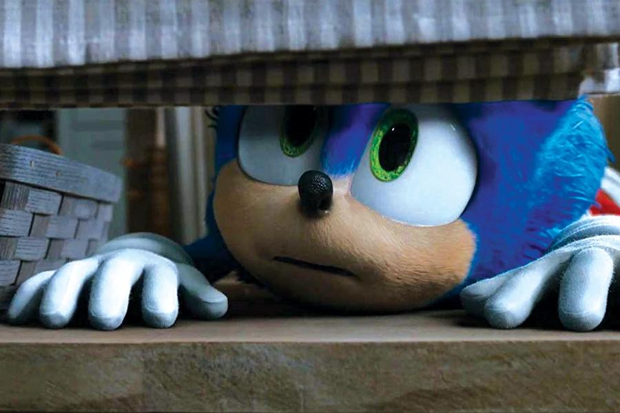 Sonic The Hedgehog Runs Amok Movies Buzz The Maine Edge
