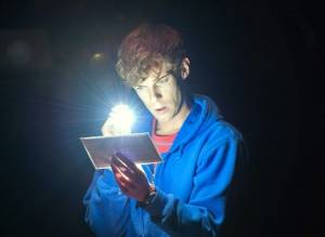 "Luke Treadaway as Christopher in ""The Curious Incident Of The Dog At Night-Time"""