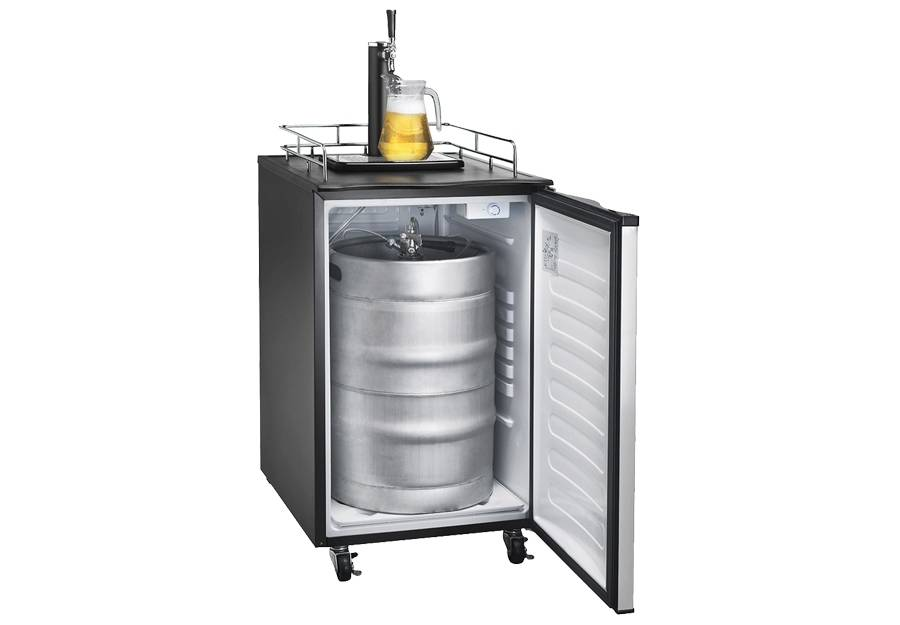 Kegerator For Sale >> Three Pint Stance Kegerator 2 Co2 Boogaloo Style The Maine Edge