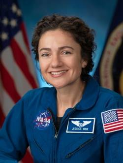 Astronaut Dr. Jessica Meir, to commemorate 30th anniversary of Challenger Space Shuttle