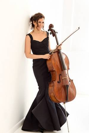 Cellist Inbal Segev soloist with the Bangor Symphony Orchestra with Lucas Richman, conductor