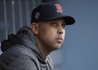 Red Sox fire manager Alex Cora for involvement in sign-stealing scandal