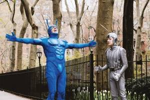 When destiny calls, 'The Tick' answers