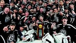 Union wins NCAA hockey title
