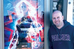 This Ironman chiropractor has seen 'Captain Marvel' more than 130 times
