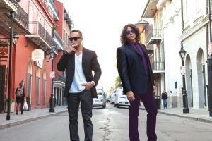 "Grammy-nominated rocker Tony ""Montana"" Cardenas (Great White, Slash) and New Orleans-based Brentt Acrement are Shadow & The Thrill. The blues-infused, groove-heavy band's monstrous-sounding debut album 'Sugar Bowl' is being released one song and video at a time. ""I consider this album to be a significant piece of work; it's a very big deal for me,"" guitarist and vocalist Cardenas tells The Maine Edge. ""This music has legs and I can't wait for people to hear it."""