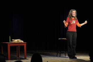 Comic one-woman show to share lighter side of doing global good