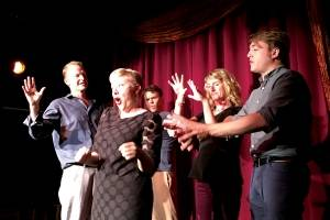 ImprovAcadia performs at their theater, located at 15 Cottage Street in Bar Harbor.