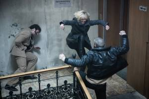 'Atomic Blonde' explodes into action