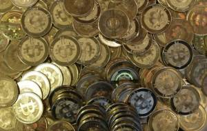 Bitcoin tokens in Sandy, Utah (ap file photo/Rick Bowmer)