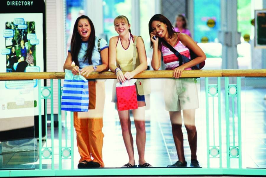 Pictures of teens shopping think, that