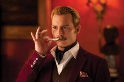 The 't' is for 'terrible' – 'Mortdecai'