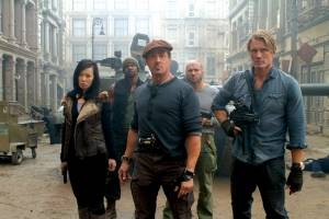 The Expendables 2' explodes